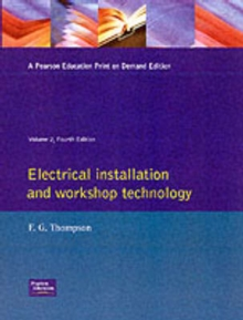 Electrical Installation and Workshop Technology : v.2, Paperback