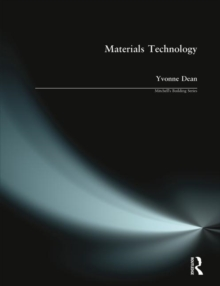 Materials Technology, Paperback