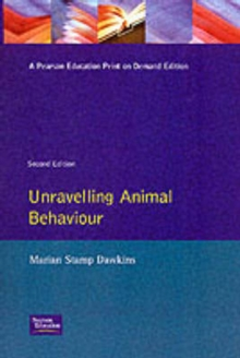 Unravelling Animal Behaviour, Paperback