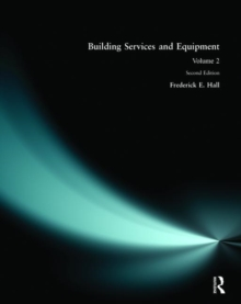 Building Services and Equipment : v. 2, Paperback Book