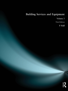 Building Services and Equipment : v. 3, Paperback