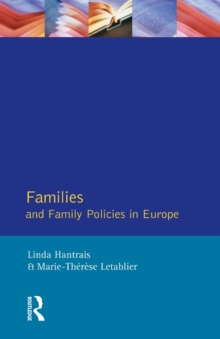 Families and Family Policies in Europe, Paperback