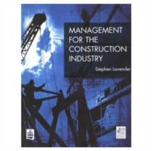 Management for the Construction Industry, Paperback