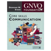 Foundation GNVQ : Core Skills Communication, Paperback Book
