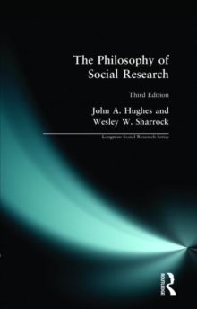 The Philosophy of Social Research, Paperback Book