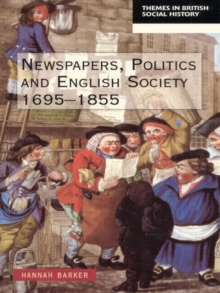 Newspapers and English Society, 1695-1855, Paperback Book