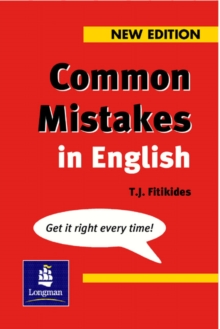 Common Mistakes in English : With Exercises, Paperback