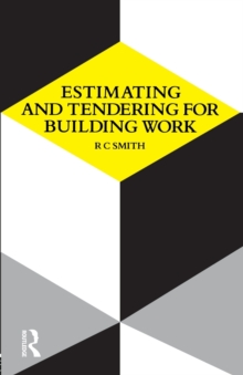 Estimating and Tendering for Building Work, Paperback