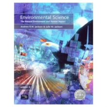 Environmental Science: The Natural Environment and Human Impact, Paperback