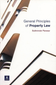 General Principles of Property Law, Paperback