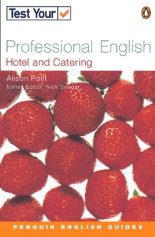 Test Your Professional English : Hotel and Catering, Paperback Book