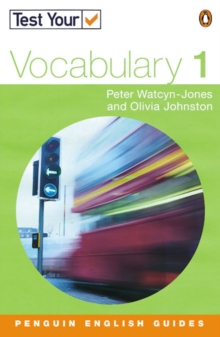 Test Your Vocabulary : 1, Paperback