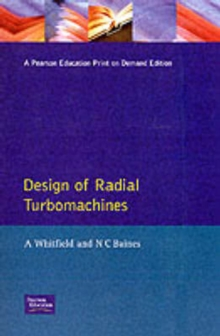 Design of Radial Turbomachines, Paperback Book