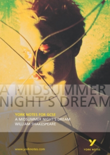 A Midsummer Night's Dream: York Notes for GCSE, Paperback