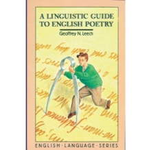 A Linguistic Guide to English Poetry, Paperback