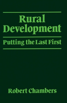 Rural Development : Putting the Last First, Paperback