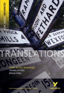 Translations: York Notes Advanced, Paperback