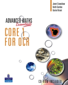 A Level Maths Essentials Core 1 for OCR Book, Mixed media product Book