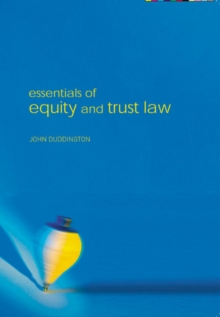 Essentials of Equity and Trusts Law, Paperback