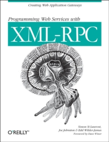 Programming Web Services with XML-RPC, Book Book