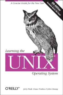 Learning the UNIX Operating System, Paperback Book