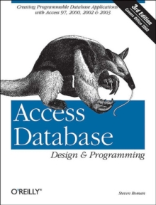 Access Database Design & Programming, Paperback Book