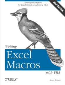 Writing Excel Macros with VBA, Paperback