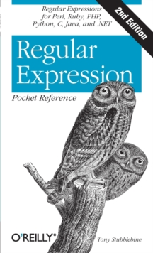 Regular Expression Pocket Reference, Paperback Book