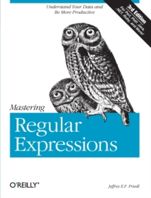 Mastering Regular Expressions, Paperback Book