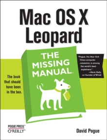 Mac OS X Leopard the Missing Manual, Paperback Book