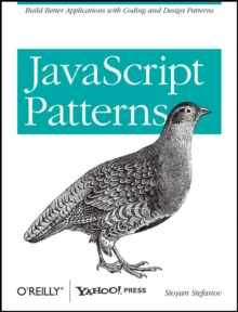 JavaScript Patterns, Paperback