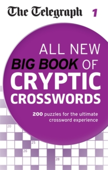The Telegraph: All New Big Book of Cryptic Crosswords : 1, Paperback
