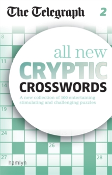 The Telegraph All New Cryptic Crosswords 2, Paperback
