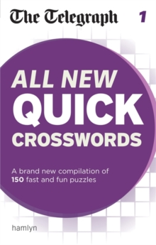 The Telegraph: All New Quick Crosswords : 1, Paperback Book