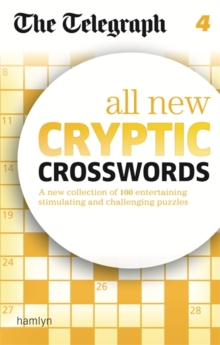 The Telegraph All New Cryptic Crosswords : 4, Paperback Book