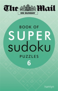 Book of Super Sudoku Puzzles : 6, Paperback