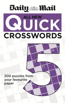 The Daily Mail: All New Quick Crosswords 5, Paperback