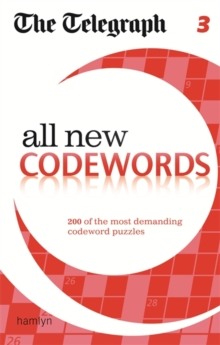 The Telegraph All New Codewords : 3, Paperback Book