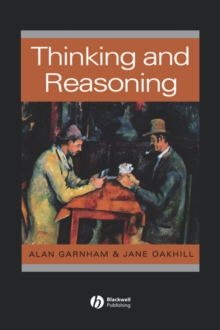 Thinking and Reasoning, Paperback Book