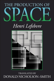 The Production of Space, Paperback