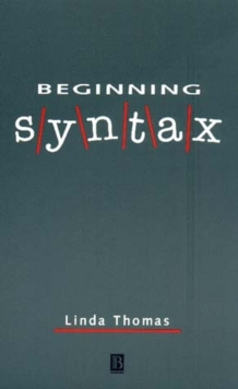 Beginning Syntax, Paperback Book