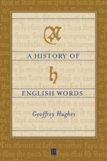 A History of English Words, Paperback