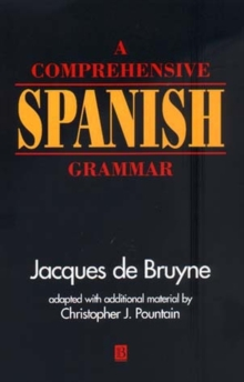A Comprehensive Spanish Grammar, Paperback