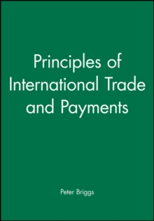 Principles of International Trade and Payments, Paperback Book