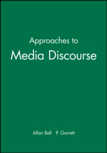 Approaches to Media Discourse, Paperback