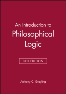 An Introduction to Philosophical Logic, Paperback
