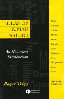 Ideas of Human Nature : An Historical Introduction, Paperback Book