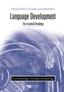 Language Development : The Essential Readings, Paperback Book