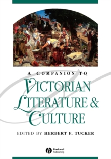 A Companion to Victorian Literature and Culture, Paperback Book