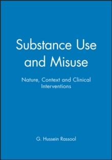 Substance Use and Misuse, Paperback Book